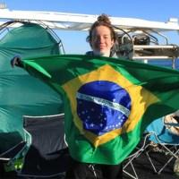 Atleta brasileira é a mais nova a atravessar o Canal da Mancha