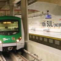 GDF entrega as estações 106 Sul e 110 Sul do Metrô