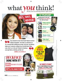 Seventeen - August 2012 - What You Think!