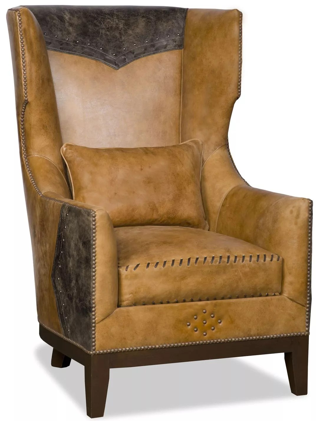 Western Chairs Western Style Wing Backed Chair