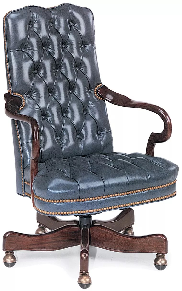 blue leather office chair cheap vanity chairs