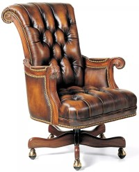 Classic Leather Desk Chairs. gray leather desk chair grand ...