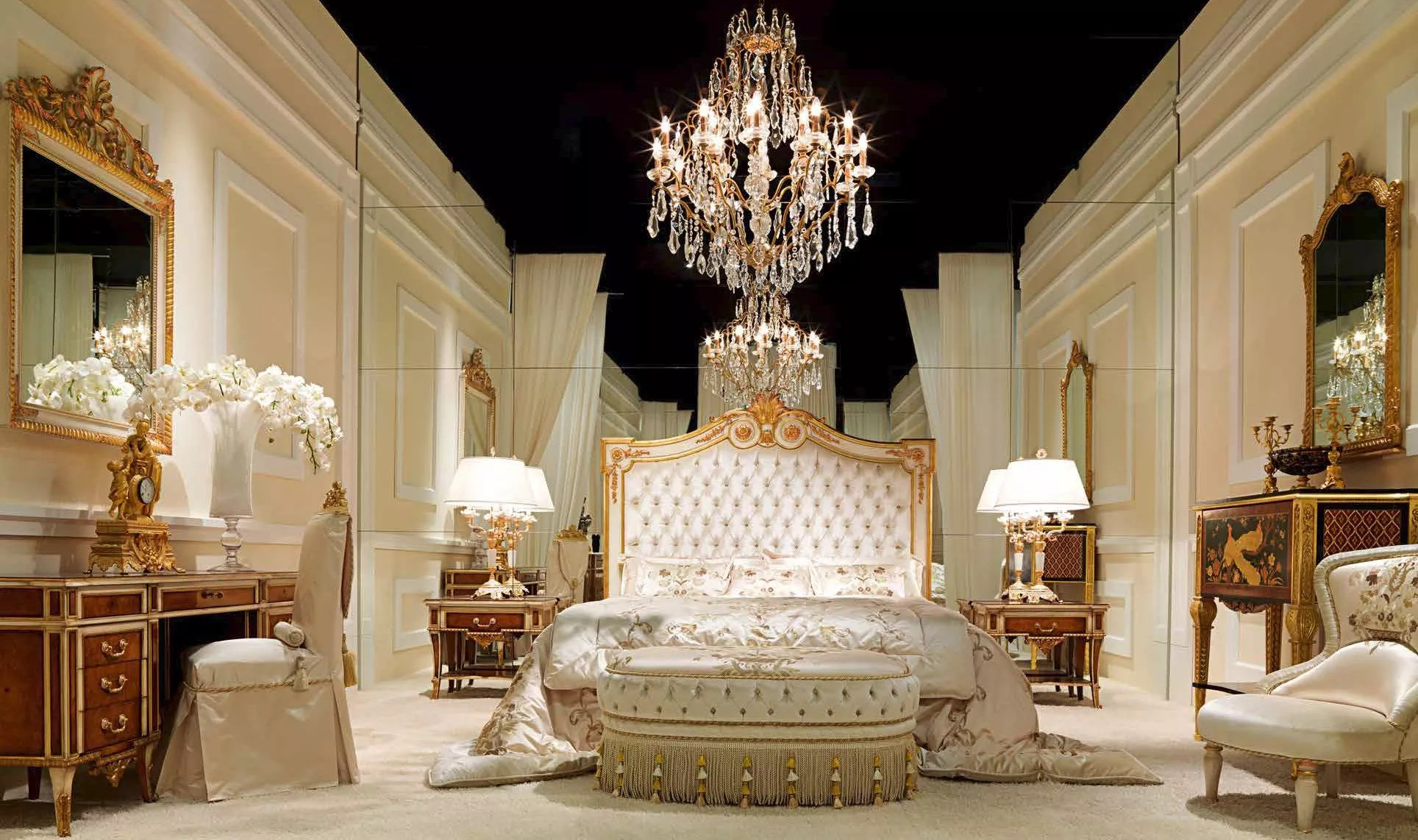 Elegant Heaven On Earth Bedroom Furniture Set