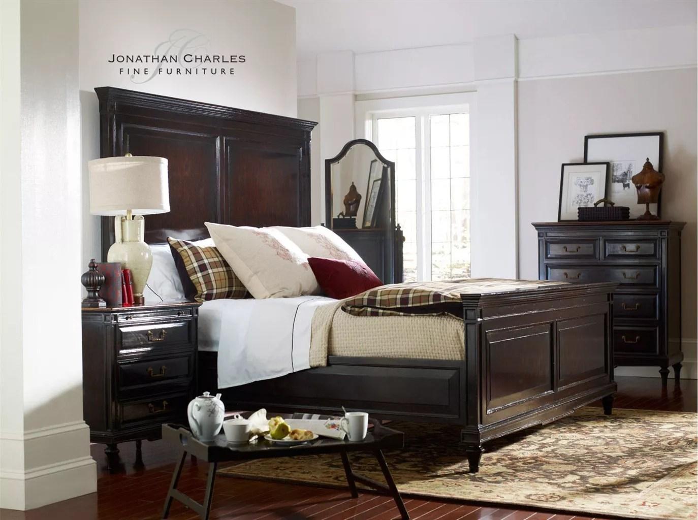 King Size Bed In Ebony