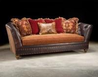 Fabric And Leather Sofa  TheSofa