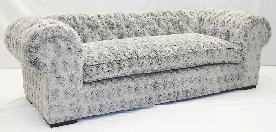 Image result for white fur couch