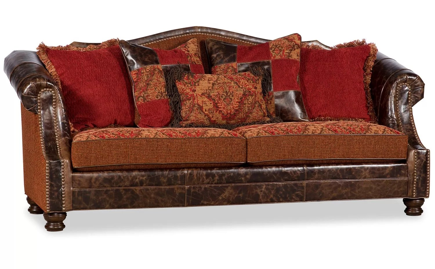 western style sofa covers sectional sofas with electric recliners southwestern arizona southwest living room couches