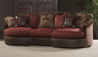 11 Luxury red burgundy sofa or couch.