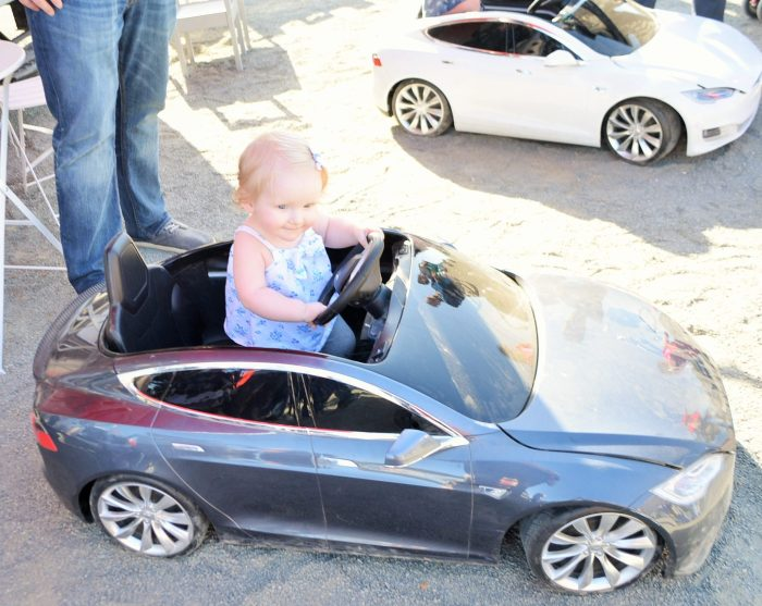 Brielle in Tesla