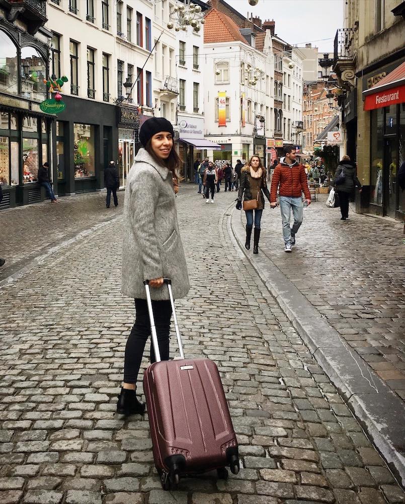 Seyahat çantasında kış tarifesi