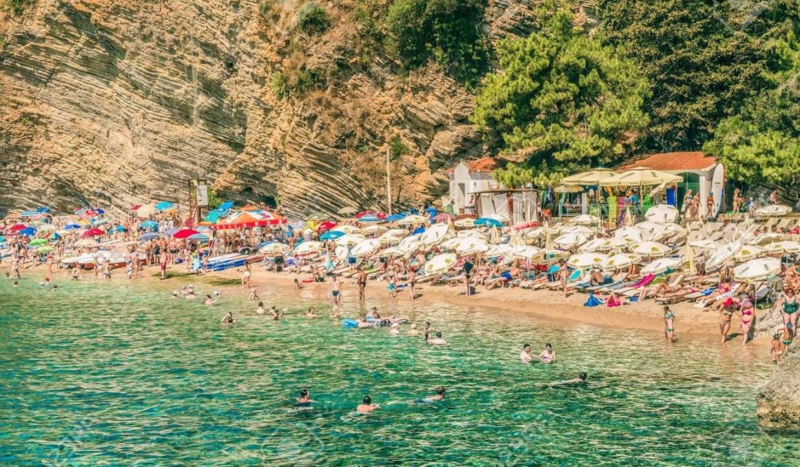 Mogren Plajı, Budva, Karadağ
