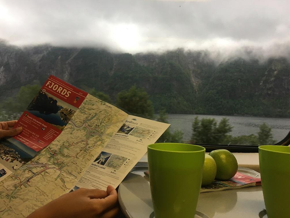 Bergen'den Flam trenine yolculuk