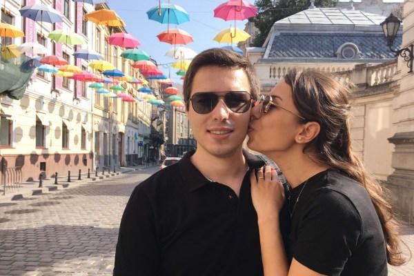 Renkli Lviv sokakları