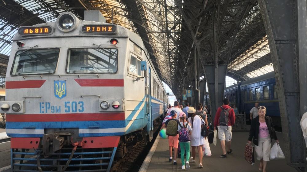 Lviv tren istasyonu