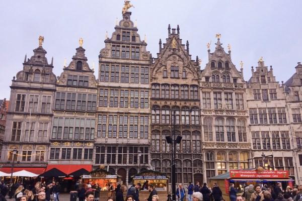 Antwerp Eski Şehir Meydanı