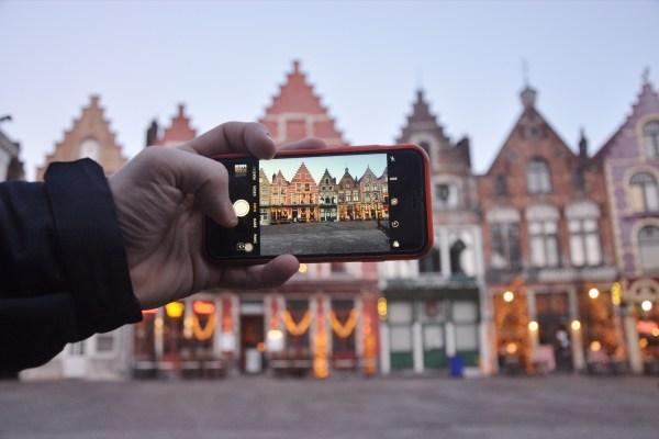 Brugge Markt Hall