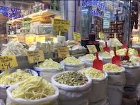 Kayseri'de çeşit çeşit peynirler