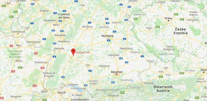 Stuttgart konumu