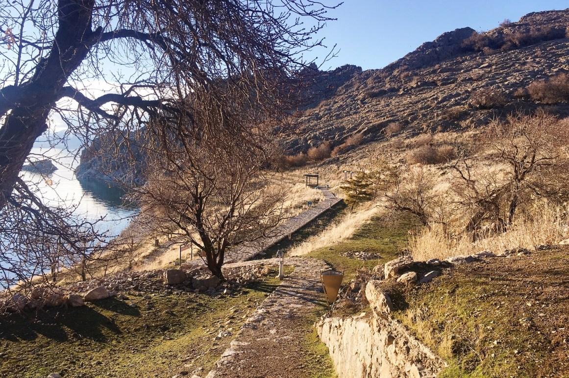 Akdamar Adası'na tırmanıştayız
