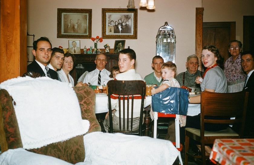Bucky Bernard, Bob Tollas, Lena Tollas, Alfred Tollas, Unknown Child, Phil Tollas, William Tritt, Jenny Tritt, Frank Tollas, Margie Bernard, Don Bernard, Chuck Tollas