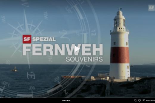 Screenshot Sendung Fernweh Souvenirs 2011