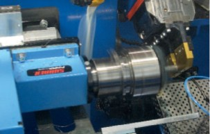 BEX35-ISO40 & WAGNER Z27-2 rolling head | Suhner Industrial Products