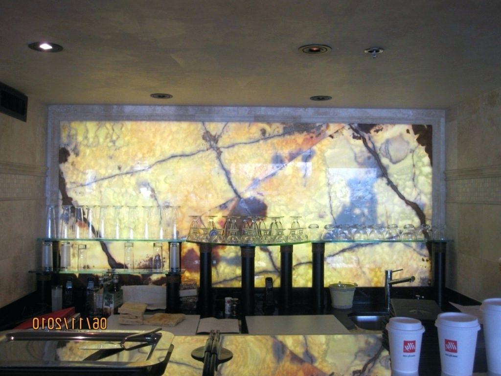 Backlit wall panels ideas