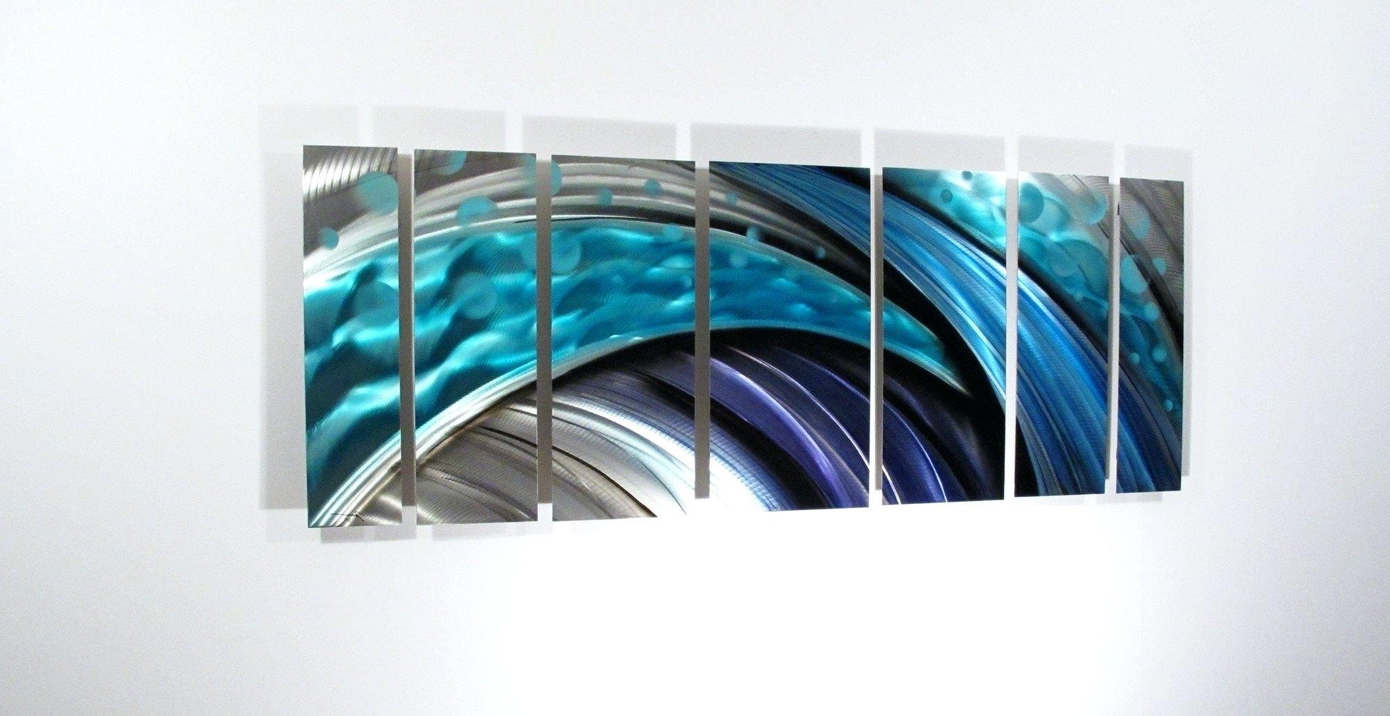 2019 Best Of Contemporary Large Oak Tree Metal Wall Art