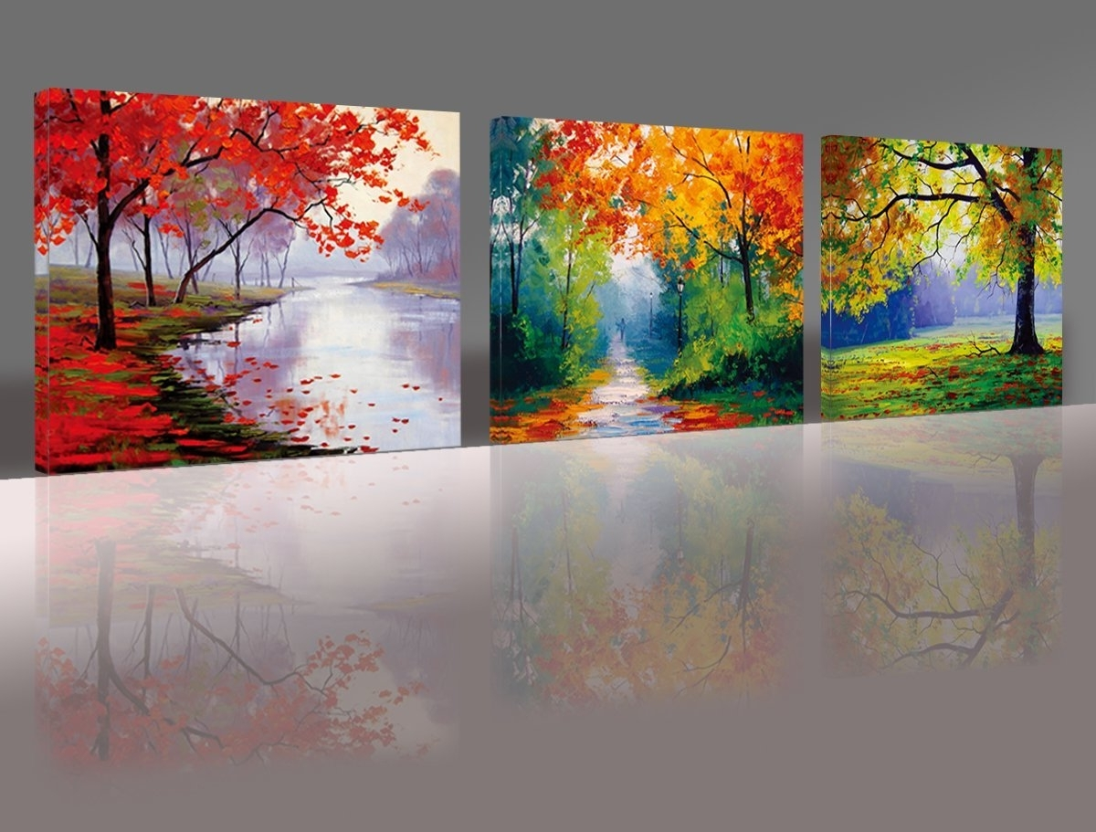 15 Best Collection Of Oil Paintings Canvas Wall Art