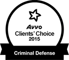AVVO Clients' Choice Award, Criminal Defense - 2015