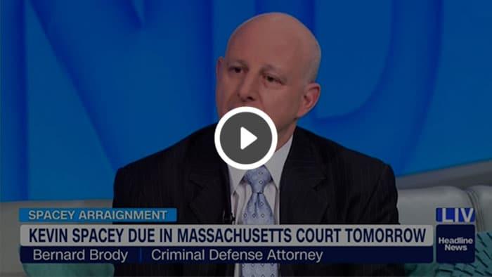 Bernard Brody appearing on CNN