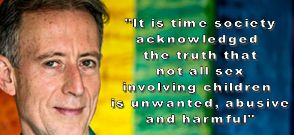 Peter Tatchell & why the paedophiles love him
