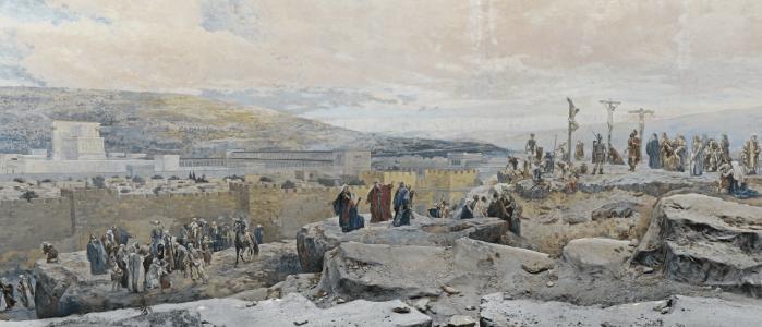 Crucifixion - panorame