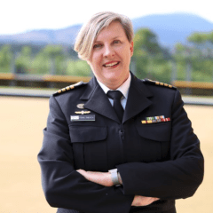 Anzac Day dawn service march too dangerous for female CO
