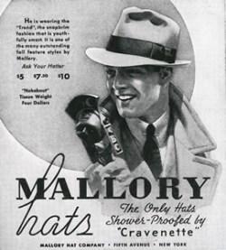 59a31f8364e Mallory Hat Company - Bernard Hats