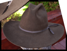The Jake Lonergan Custom Handmade Cowboy Hat