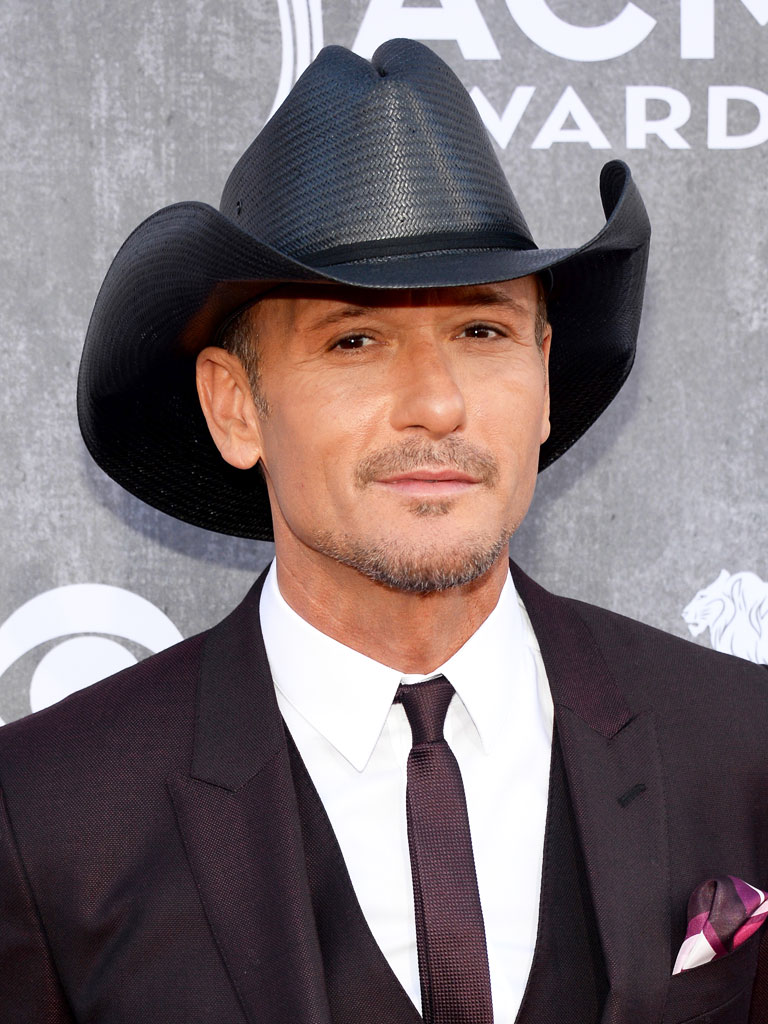 Tim McGraw Gets Inducted into the Headwear Hall of Fame