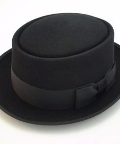 The Heisenberg Pork Pie Custom Hand Made Beaver Fur Felt Fedora Movie Hat
