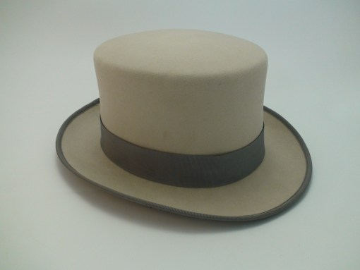 Smithbilt Hats Fur Felt Ascot Grey Top Hat