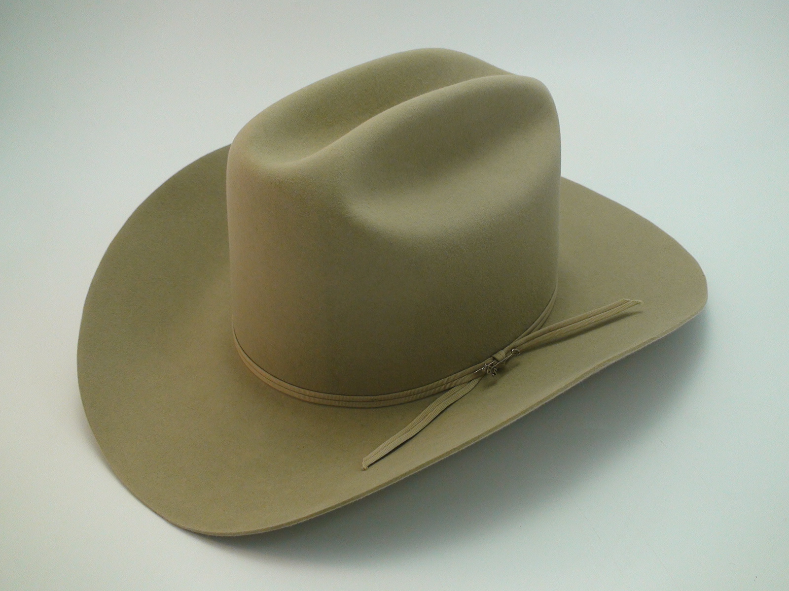 5c2361a2f0f Vintage Stetson Rancher 4X Beaver Silverbelly Western Cowboy Hat Size 7 1 8″