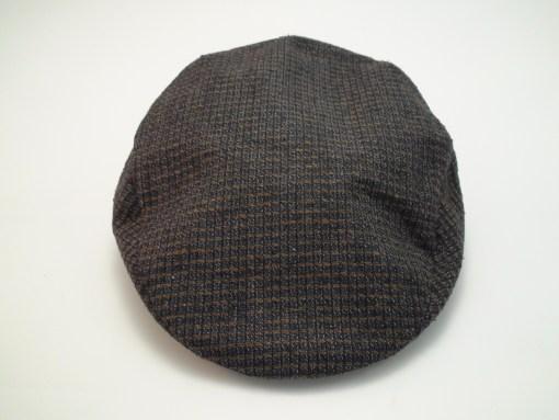 Stetson Wool Tweed Brown Newsboy Golf Driving Flat Cap