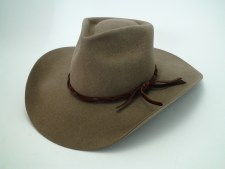 Tristian Custom Hand Made Beaver Fur Felt Cowboy Movie Hat