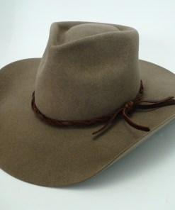 Tristian Custom Hand Made Beaver Fur Felt Cowboy Movie Hat