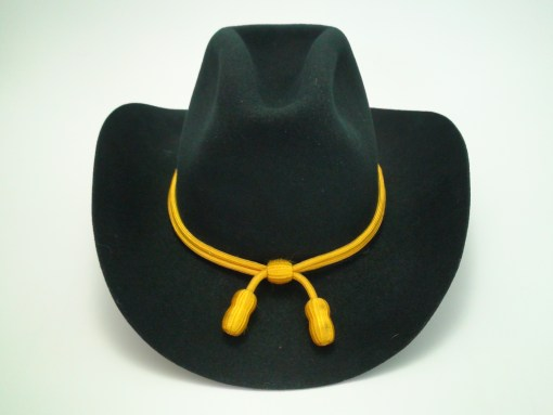 Smithbilt Nomad Black Cowboy Hat with Calvary Band