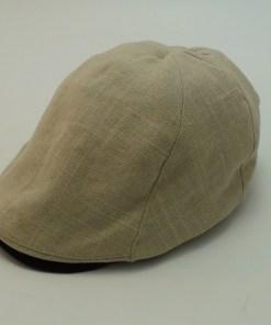 Stetson Linen Blend Ivy Cap Kakhi Golf Newsboy Cabbie Cap