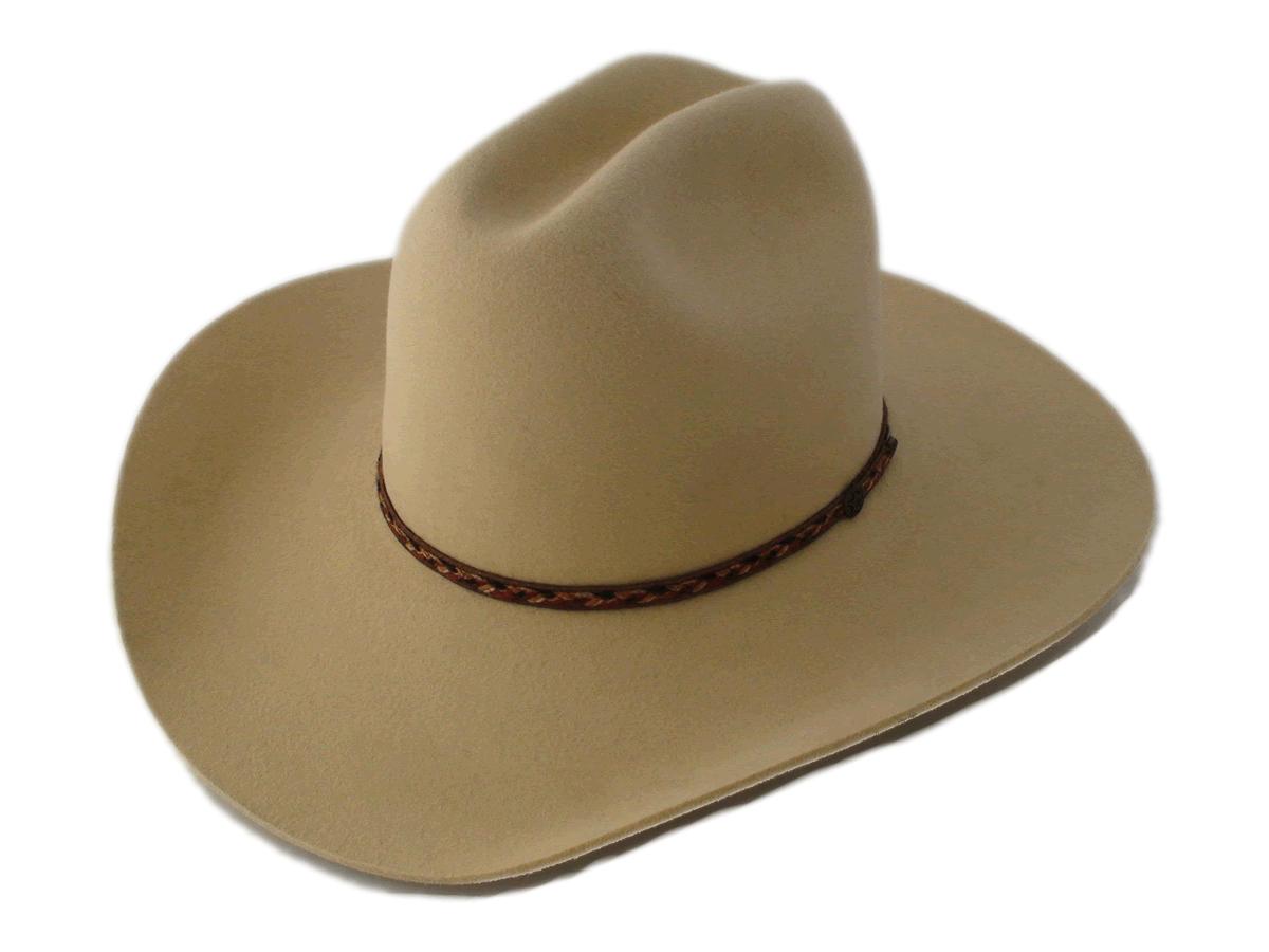 NEW Smithbilt Hats 100% Fur Felt Kakhi Cowboy Hat Sizes 7 1 4″ – 7 1 2″ 31925569bad