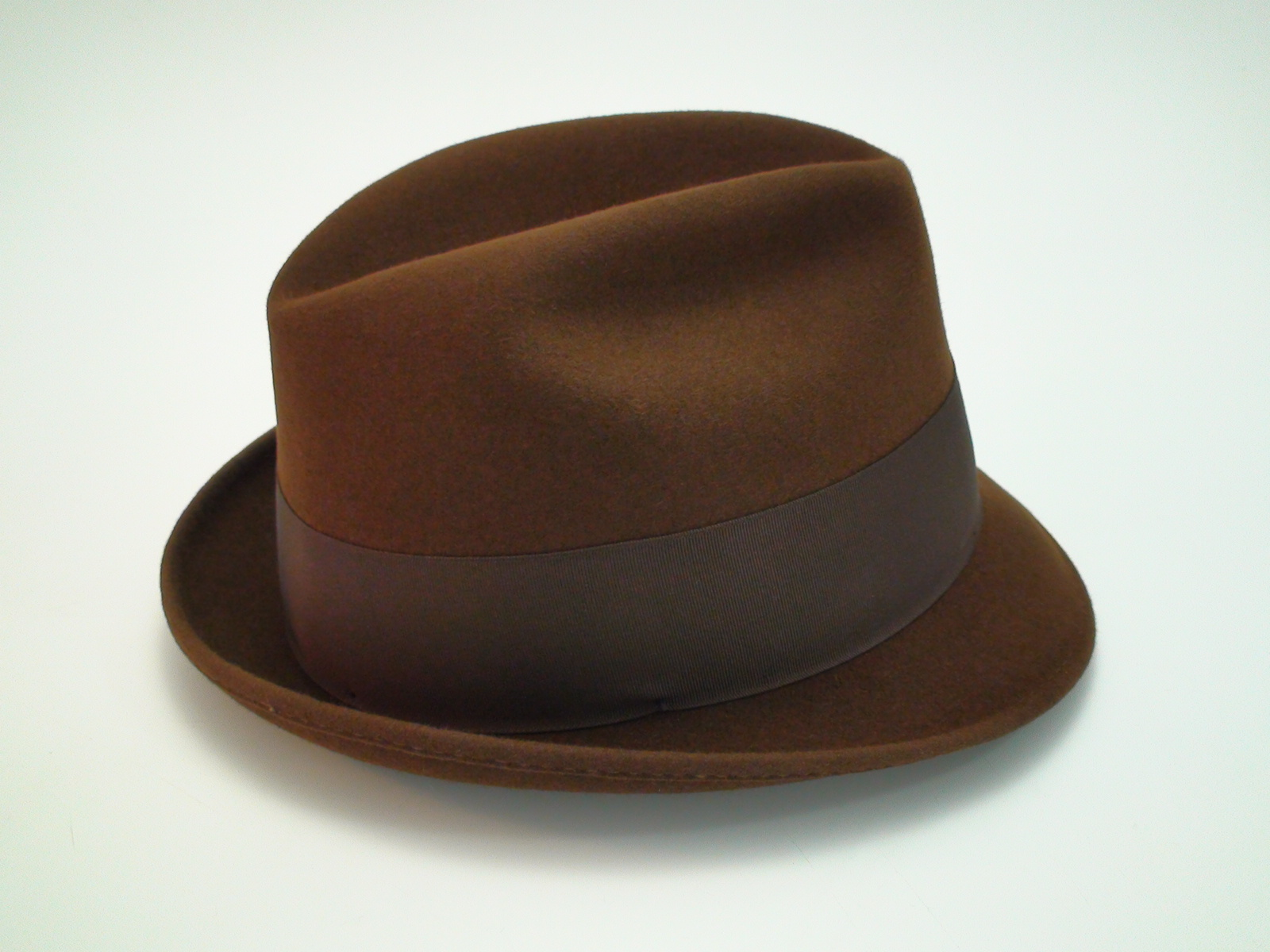 Beaver Brand Hats Brown Imported Coney Fur Felt Fedora Hat 58a0f9830ad