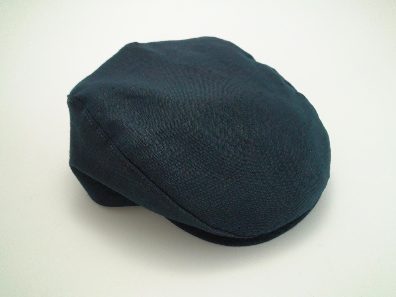 1d085220ee21de Navy Blue Flat Cap - Parchment'N'Lead