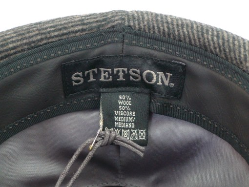Stetson Brown Wool Blend Trilby Fedora Cloth Hat