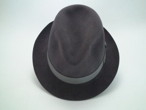 Smithbilt Hats 3X Quality Dark Grey Fine Fur Felt Fedora Hat